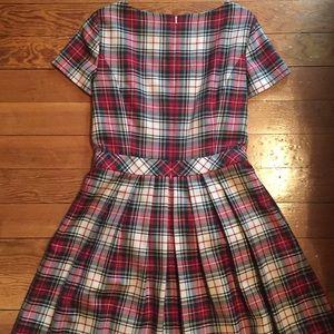 3ccd26948774d Brooks Brothers Dresses - Brooks Brothers Wool Tartan Dress RED FLEECE